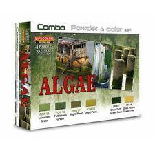 Lifecolor SPG07 Algae / Algen Combo Powder & Color Set 6x22 ml (100ml=13,64€)