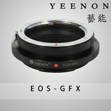 Yeenon  EOS lens to Fujifilm GFX 50S-MOUNT  body  EOS - GFX 50S Adapter
