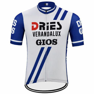 Dries Verandalux Gios Retro Cycling Jersey