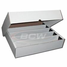 BCW 5000 Ct Count Super Monster Trading Card Storage Box Brand New with FULL LID