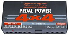 Voodoo Labs P44 Pedal Power 4x4 Pedalboard Rack Board Isolated Power Supply