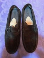 BORN W9765 Brown Leather Driving Loafers Slip Ons Shoes Womens Size 9M / W