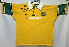 Canterbury Of New Zealand Australia Wallabies Rugby Shirt Mens Size 4XL Defects
