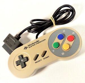 Manette Pad Controller Nintendo Super Famicom SFC SNES Officiel Jap Japan (20)