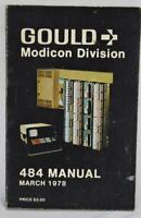 1978 Gould Modicon Division 484 Manual