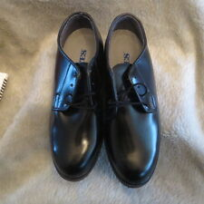 New Bates Womens Leather Uniform Dura-Sole Dress Shoes Size 7 EW