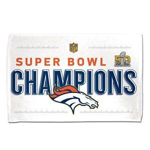 Locker Room Towel Denver Broncos Super Bowl 50 Champions Trophy Collection 42x24