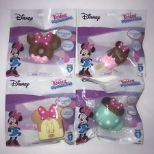 NEW Disney Minnie Mouse Kawaii Squeezies Lot Of 4 Series 1 Cocoa Donut Toast +