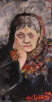 Helena Blavatsky, Oil Painting, William Lightner