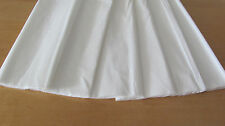 "6 SHEETS OF CREPE PAPER 19""x78"" SIZE (WHITE)"