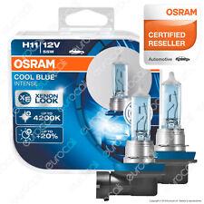 2 Lampade Osram H11 Cool Blue Intense 64211CBI Lampadine Fari Auto Moto Xenon