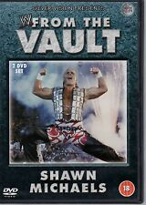 WWE Shawn Michaels From the Vault 2003 2 DVD Set orig WWF wrestling