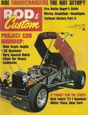 ROD & CUSTOM 1973 JUNE - TURBO ON 302 FORD PART 1, BEAM AXLE RACK-N-PINION