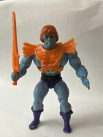 VINTAGE Faker COMPLETE He-Man MOTU 1983 Wave 2 RARE w/ Chest Sticker SOFT HEAD