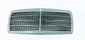 Mercedes Benz W124 Chrome and Gray Front Grille Insert For Sedan Estate Wagon
