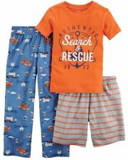 NUEVO carter's Niños 3 piezas Jersey Holgado Pijama búsqueda & Rescate 14 Año