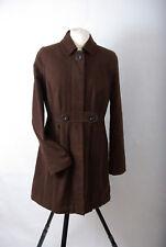 P836/P03 Monsoon Brown Cotton Trench Mac Jacket Coat, size 12 Euro 40