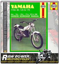 Yamaha TY80 (72cc) 1974 - 1984 Haynes Manual (0464)