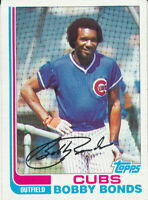 Bobby Bonds 1982 Topps #580 Chicago Cubs Baseball Card