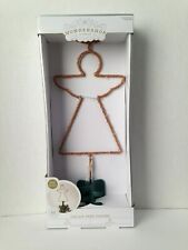 Wondershop Angel Led Lit Tree Topper New 25 Lights Indoor Easy Clip