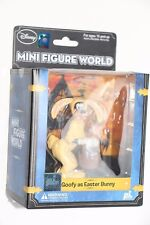 Disney Mini Figure World Goofy As Easter Bunny Collectible Figure New Sealed