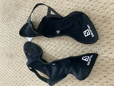 SALOMON Gaiters Running Hiking Mens Medium. Used Once.