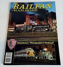 "Railfan & Railroad Magazine February 1991 Steamtown's ""Photographer's Weekend"""
