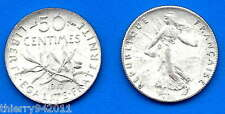 France 50 Centimes 1917 Silver WWI Franc Cent Coin Free Ship Wrd Francs Frcs Frc