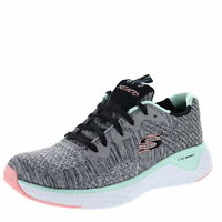 Skechers Solar Fuse Brisk Escape Gray/ Multi Womens Training Shoe Size 9.5M