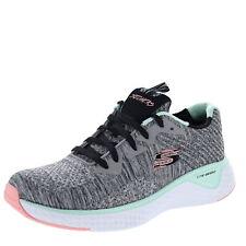Skechers Solar Fuse Brisk Escape Gray/ Multi Womens Training Shoe Size 9.5M