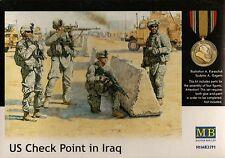 1/35 Master box 3591 U.S. Check Point in Iraq - 4 Figures Set  Plastic Model set
