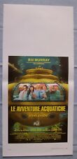 Locandina The Life Aquatic with Steve Zissou Original Italian Movie Playbill