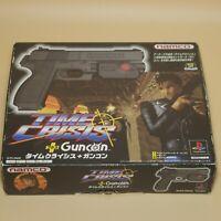 Namco Guncon Time Crisis Controller Official Sony PlayStation NPC-103 Black Box