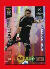 CHAMPIONS LEAGUE 2010-11 Panini 2011 -Card Goal Stopper- ROBERTO - BENFICA