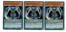 Yugioh 3 X (3 Karten)  Dämmerungs-Ninja Kagen BLLR-DE017, 1. Auflage, Ultra Rare