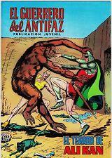 EL GUERRERO DEL ANTIFAZ (Reedición color) nº:  75.  Valenciana, 1972-1978.