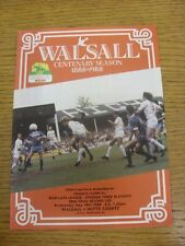18/05/1988 Play-Off Semi-Final Division 3: Walsall v Notts County  . Condition:
