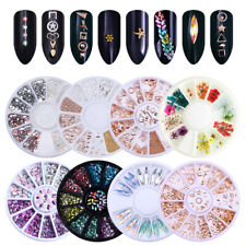 Nagel Glitzersteine Straßsteine Colorful Mixed Size 3D Nail Art Decorations