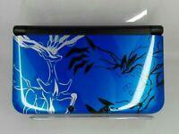 Nintendo 3DS LL XL Pokemon X Pack Limited Xerneas Yveltal Blue Console Japan