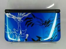 Nintendo 3DS LL XL Pokemon X Pack Limited Xerneas Yveltal Blue Console Japan