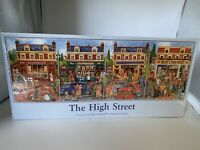The High Street 4x500 Piece Jigsaw Puzzle New Sealed