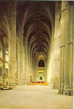 Canterbury, UK  Canterbury Cathedral  Tne Nave   unused postcard