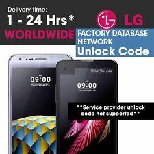 Cricket USA Unlock Code LG Risio H343 LG G Stylo H634 True Optimus Escape 2 H445