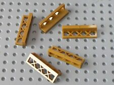 5 x Barriere LEGO PearlGold Fence 3633 / set 41167 41160 70728 7573 6243 70657..