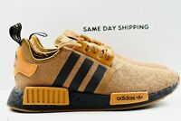 Adidas NMD_R1 (Mens Size 9) Shoes FY9385 Raw Desert Core Black Mesa Multicolor