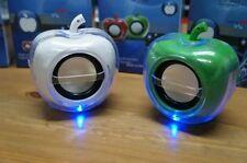Docks altavoces verde para teléfonos móviles y PDAs Apple