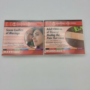 Family Today Audio Series  Adult Children Divorce Conflicts of Marriage 2 pack