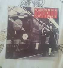 "Madonna very rare Holiday uk 7"" 1983"