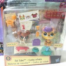 Littlest Pet Shop Hansamu Inu #81Buster Boodles #82 Animals Pet In the City Doll