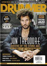 Drummer Magazine Jon Theodore Thomas Pridgen Chris Bond Mark Fletcher 2013
